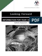 yr 10 portfolio support package 2014