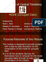 Mode (Grouped Data)