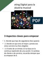 Marketing Digital Para La Industria Musical