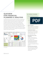 DS QlikView for Financial Planning and Analysis En