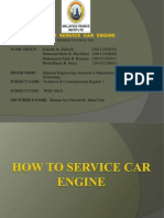 How to Service Car Engine
