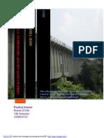 Site Visit Gomti Aqueduct in lucknow