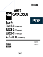 2008 Superjet parts catalog