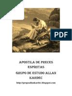Apostila de Preces Espíritas (Grupo de Estudo Allan Kardec)