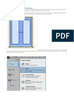 Converting a Door to a Curtain Wall Door in Revit