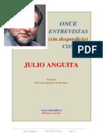 Anguita, Julio Once Entrevistas Sin Desperdicio