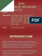 Formas de Educacion