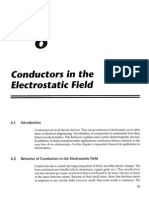 Chapter 6 - Conductors in the Electrostatic Field
