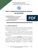 Tema 6_eliminación de Residuos Urbanos en Vertedero_13_14_gic