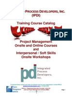 IPDI Training Course Listing 20101005