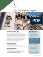 LLB Qualifying Law Degree