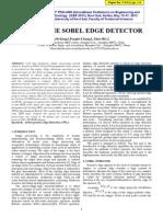 edge detection sobel de2 altera