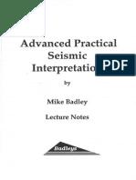 Advanced Practical Seismic Interpretation
