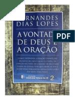 A Vontade de Deus e a Oração - Hernandes Dias Lopes
