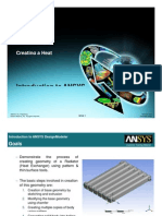 Ansys Heat Exchanger