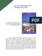 Coloquio Por El Bicentenario de La Constitucion de Cadiz