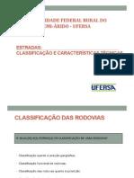 Aula 02 - Classificação e Características Técnicas UFERSA 20132n