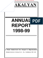 JANAKALYAN 2 Annual Report 1998-99
