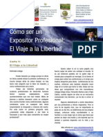 Carlos de La Rosa Vidal - Cómo Un Ser Expositor Profesional