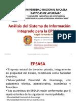 Análisis Del Sistema de Información Integrado Para La