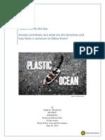 Plastic Litter in the Sea_Essay
