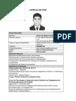 Curriculum Vitae Jose Luis