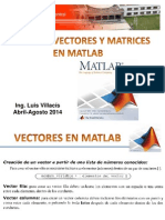 Vectores y Matrices en Matlab (1)