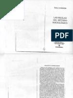 Durkheim_Las reglas del método sociológico (Prologos a la 1a y 2 da edición)