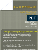 Foreign Exchange Management Act 2000