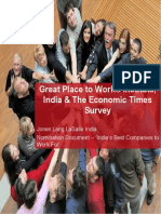 Indias Best Company to Work For