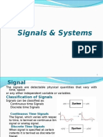 Communication(Chapter 1 Signal & System)