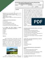 t.d. de Língua Portuguesa