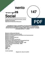 Conpes Social 147 Embarazo Adolescentes 3fc863cff7d4acc92d9501154f395413