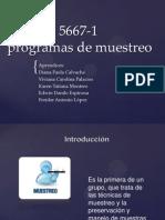 Ntc ISO 5667-1 Programas de Muestreo