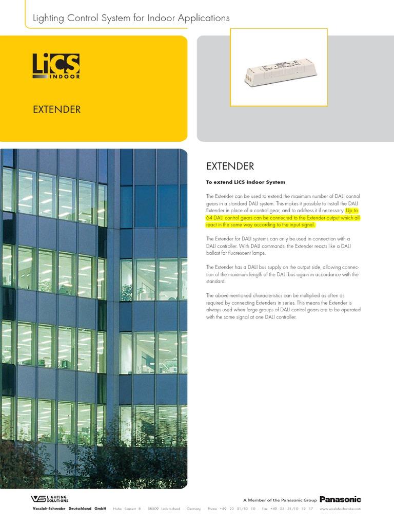 LiCS Extender GB | Electric Power | Equipment