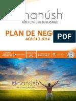 Plan de Negocio Nanúsh Red Altamente Duplicable Agosto 2014