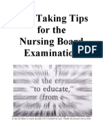 15995708 Test Taking Tips for the Nursing Board Exam