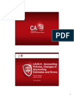 Lkas8 Accounting Policies,Changes in Accounting Estimates and Errors