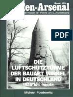 Waffen Arsenal - Band 175 - Die Luftschutztürme der Bauart Winkel in Deutschland 1936 bis heute