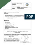 Informe Resistencia Interna de Un Galvanometro