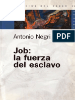 Job La Fuerza Del Esclavo- Antonio Negri