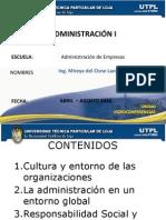 culturayentornodelasorganizaciones-100408171537-phpapp02