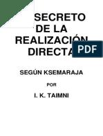 Taimni I K - El Secreto de La Realizacion Directa