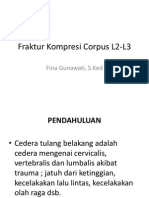Fraktur Kompresi Corpus L2-L3
