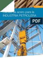 Cables de Acero Para La Industria Petrolera