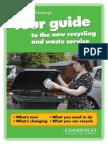 Edinburgh Recycling Guide 2014
