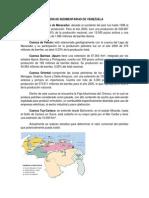 Cuencas Sedimentarias de Venezuela