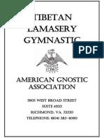 Tibetan Lamasery Gymnastic