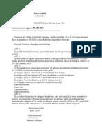H.G. Statutul Antrenorului 343 Din 2011