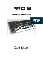 Pro 2 Operation Manual
